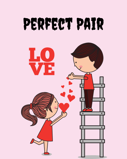 create free Perfect Pair group card