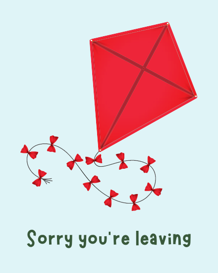 create free You're Leaving group card