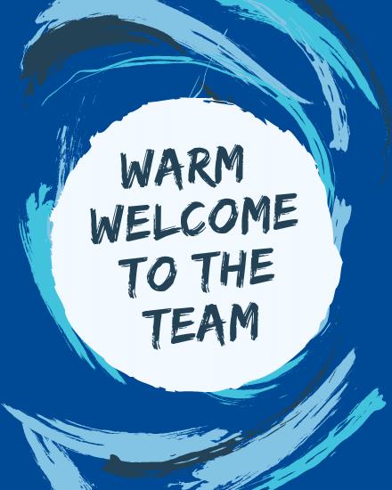 create free Warm Welcome group card