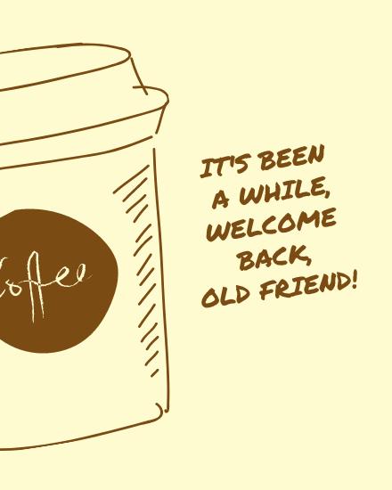 create free Welcome Back group card