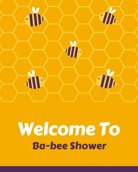 create free Ba-bee Shower group card