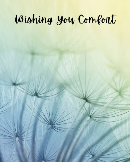 create free Wshing You Comfort group card