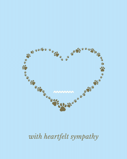 create free With Heartful Sympathy group card