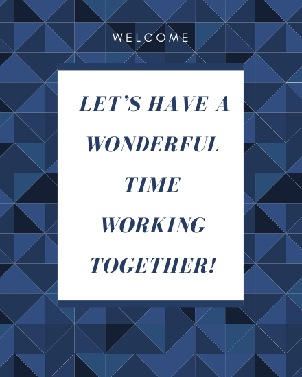 create free Working  Together group card