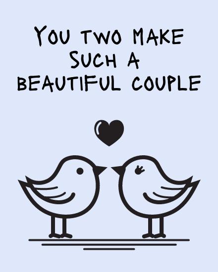 create free Beautiful Couple group card